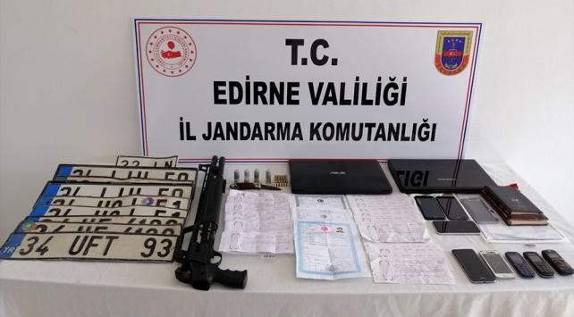 """Edirnede """"tefecilik"""" operasyonu: 8 zanlı tutuklandı"""