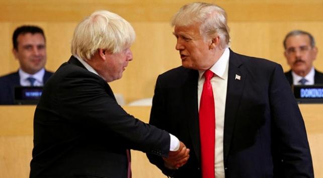 Trump: Johnson, Muhafazakar Parti liderliği için mükemmel seçim