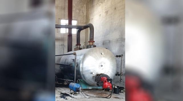 İş yerinde kaçak akaryakıt rafinerisi kuran 5 şüpheli yakalandı