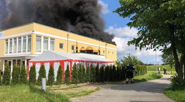 Danimarkada Türk camisinde yangın