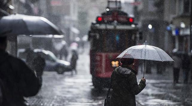 İstanbul ve 5 il için gök gürültülü sağanak uyarısı