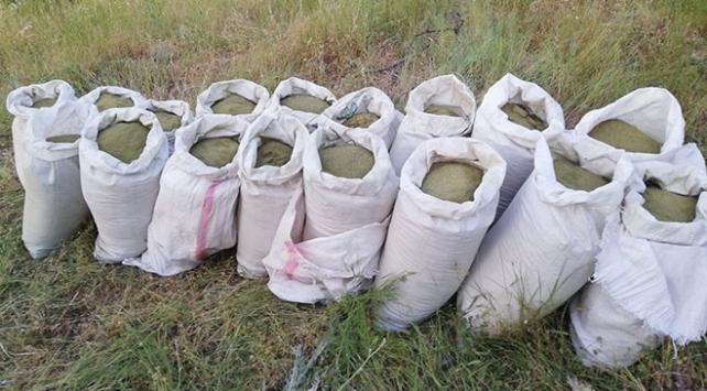 Diyarbakırda 314 kilogram esrar ele geçirildi