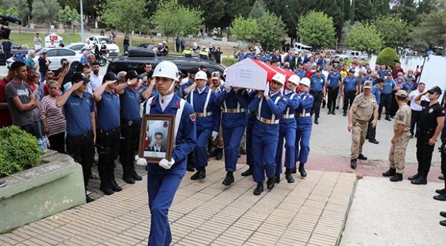 Şehit Jandarma Uzman Onbaşı Yücel son yolculuğuna uğurlandı
