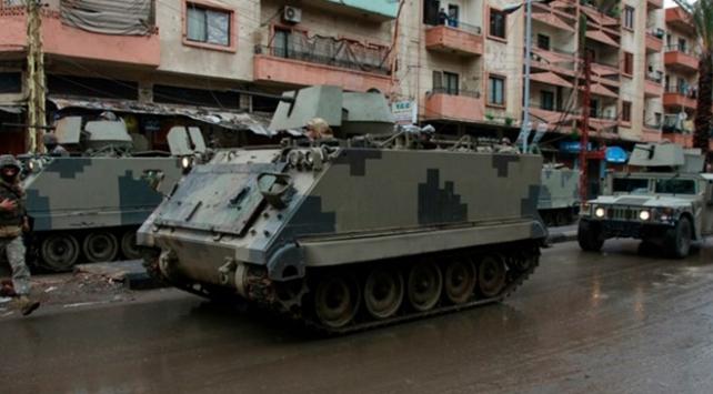 Lübnanda silahlı çatışmada 4 güvenlik görevlisi hayatını kaybetti