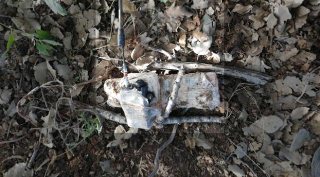 Siirtte telsiz tetikleyicili patlayıcı düzeneği ele geçirildi