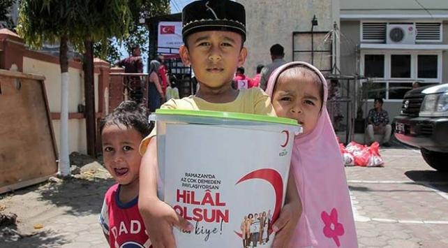 Türk Kızılay, ramazanda 14,7 milyon kişiye ulaştı