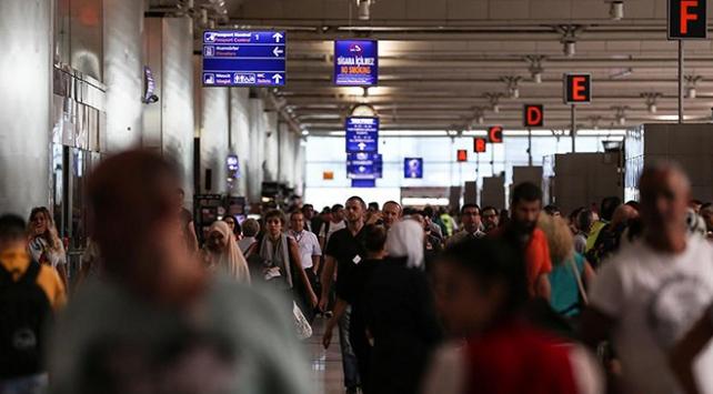 İstanbuldaki havalimanları, baharda 25 milyon yolcu ağırladı