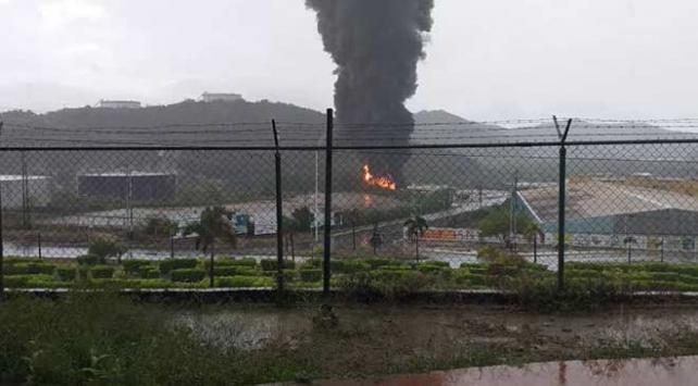Venezuelada petrol rafineri tesisinde yangın: 3 ölü