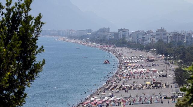 Antalyaya günlük gelen turist sayısında yeni rekor