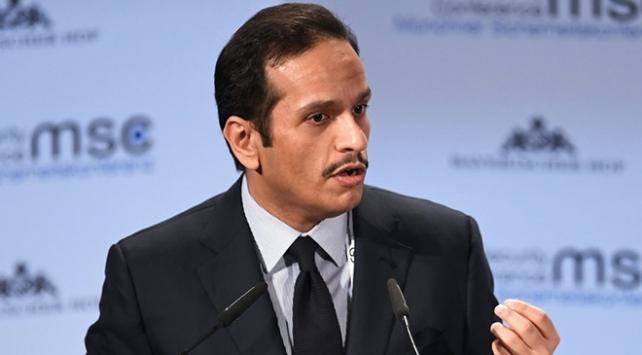 Katar: ABDnin Orta Doğu barışı için Filistine ihtiyacı var
