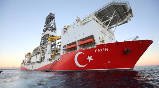 Fatih sondaj gemisi Doğu Akdenizde faaliyetlerine devam ediyor