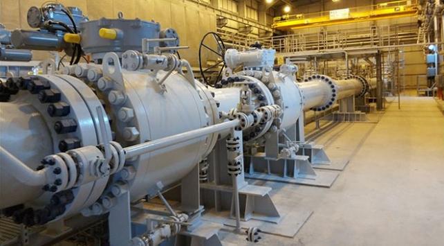 TANAPtan bir yılda 1,8 milyar metreküp gaz geldi