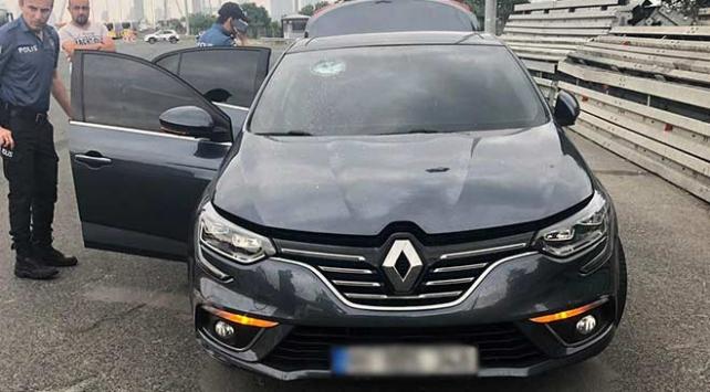 Trafikte makas atarak ilerleyen kişinin ehliyetine el konulduğu ortaya çıktı