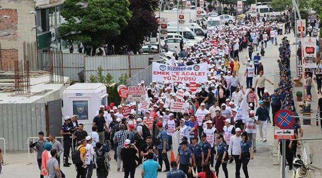 Hak-İşten Boluda Emek ve Adalet Yürüyüşü
