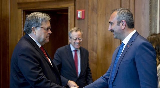 Adalet Bakanı Gül, ABDli mevkidaşı Barr ile görüştü