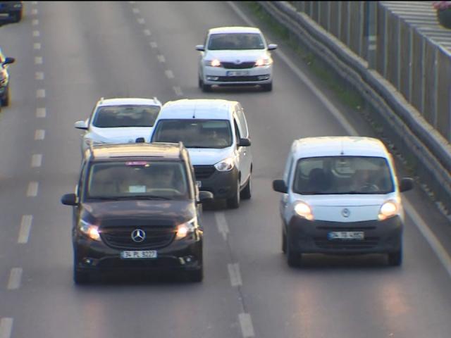 Trafikte makas terörünü TRT Haber görüntüledi
