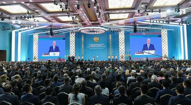 Kazakistanda cumhurbaşkanlığı seçimini kazanan Tokayev yemin etti