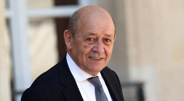 Fransa Dışişleri Bakanı Le Drian Türkiyeye geliyor