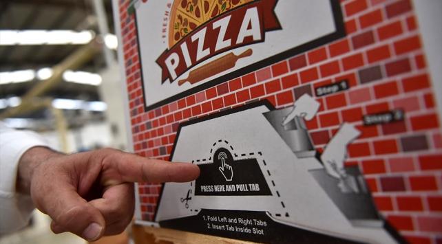 """""""Kilitli pizza kutusu"""" dünyaya açıldı"""