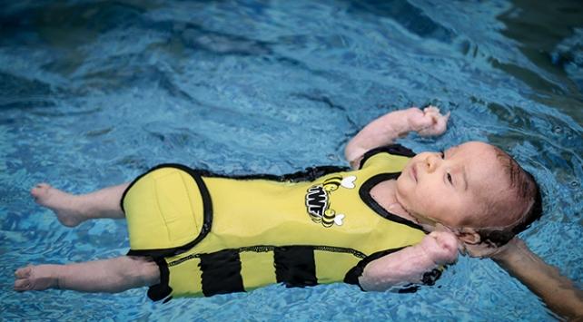 Minikler hayatı suda öğreniyor