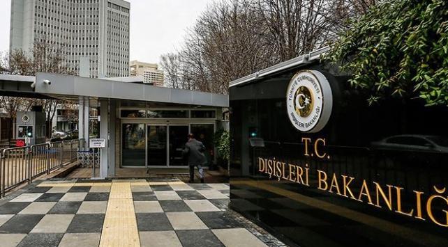Türkiyeden Hollanda Temsilciler Meclisinin kararlarına tepki