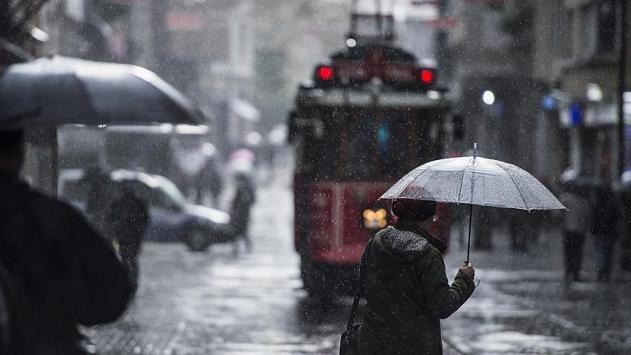 İstanbul ile Yalova için sağanak ve dolu uyarısı