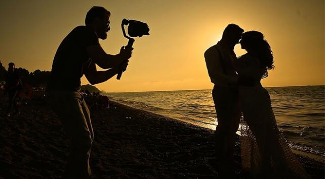 Düğün fotoğrafçılarının doğal platosu: Akçakoca