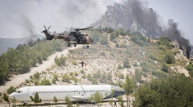 Şehit Teğmen Caner Gönyeli 2019 Arama Kurtarma Tatbikatı tamamlandı