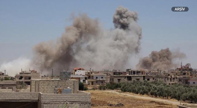 Esed rejimi İdlibe yoğun saldırılarını sürdürüyor
