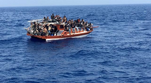 Ege Denizinde 80 göçmen yakalandı