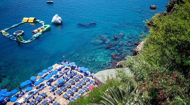 Antalyada mavi bayraklı plaj sayısı 203e yükseldi