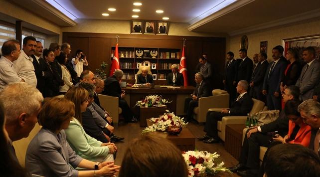 MHP Genel Başkanı Bahçeli seçim çalışmalarını İstanbulda sürdürüyor
