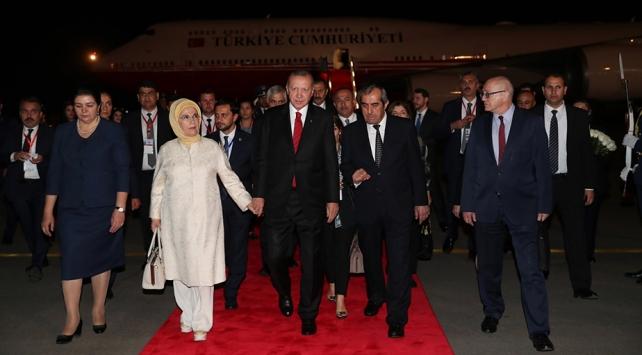 Cumhurbaşkanı Erdoğan Tacikistanda