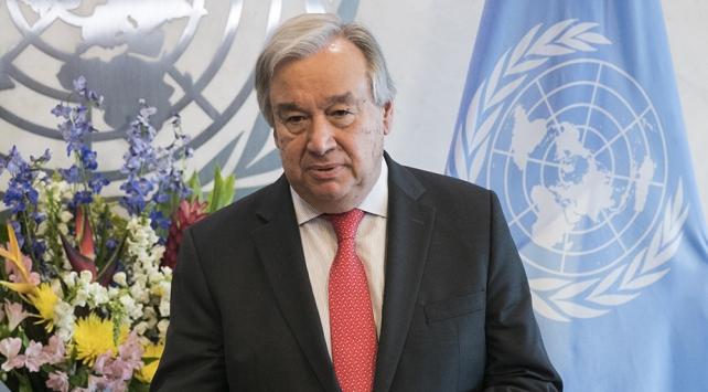 Guterresten ABD-İran gerilimiyle ilgili açıklama