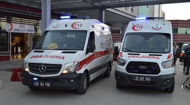 Afyonkarahisarda iki aile arasında silahlı kavga: 8 yaralı