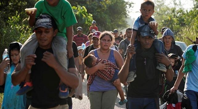 Meksika, ABDnin sınırsız sayıda sığınmacı göndermesine karşı
