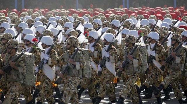 İrandan Esede Asker Desteği