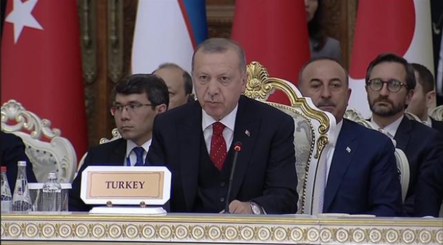 Cumhurbaşkanı Erdoğan: Kudüste yeni oldubittiler oluşturma gayretini reddediyoruz