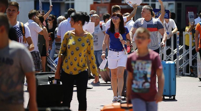 Rus turist sayısı 2020'de 7 milyonu geçecek