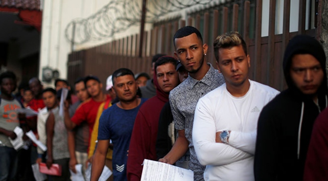 Meksikadan göçmen önlemi