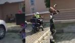 Sakaryada geç kalan öğrencileri sınava polis ekipleri yetiştirdi