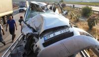 Osmaniye'de zincirleme trafik kazası: 2 ölü, 3 yaralı