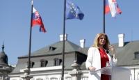 Slovakya'nın ilk kadın Cumhurbaşkanı Caputova görev başında