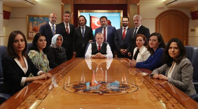 Cumhurbaşkanı Erdoğan: S-400den taviz vermeyeceğiz