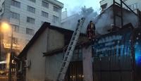 Başkentte lokanta yangını