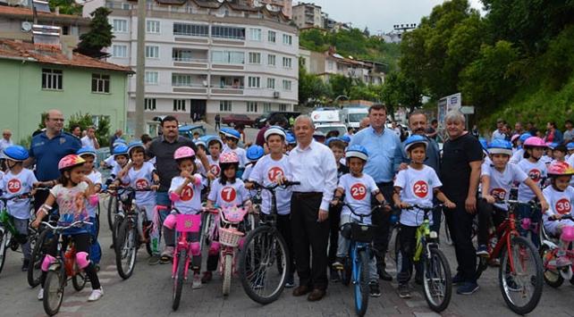 Milli mücadele anısına bisiklet yarışı