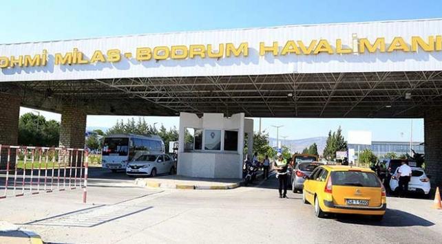 Milas-Bodrum Havalimanında özel jet pistten çıktı