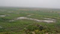 Yozgat'ta dolu ve sel ekili alanlara zarar verdi