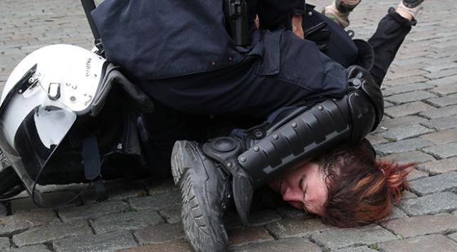 Fransada sarı yeleklilerin eylemleri 7. ayını doldurdu