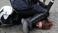 Fransa'da sarı yeleklilerin eylemleri 7. ayını doldurdu